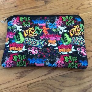 Reversible Mickey Mouse laptop sleeve